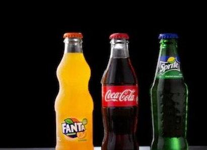 300ml Glass Fanta Drink