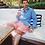 Thumbnail: Camisa de Linho Shorts Co - Azul Balada