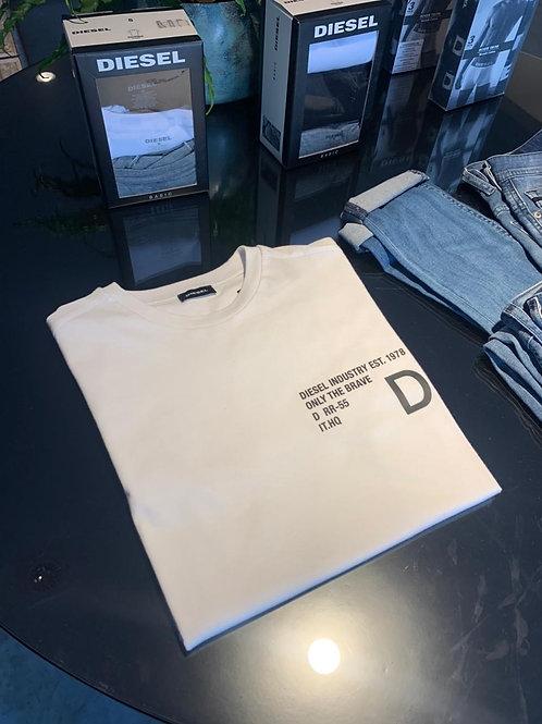 Camiseta Diesel - Branca