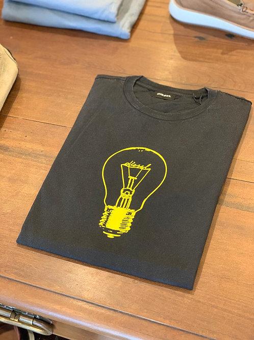 Camiseta Diesel - Preto Estonado