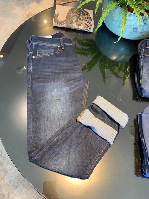 Calça Diesel Thommer - Jeans Escuro