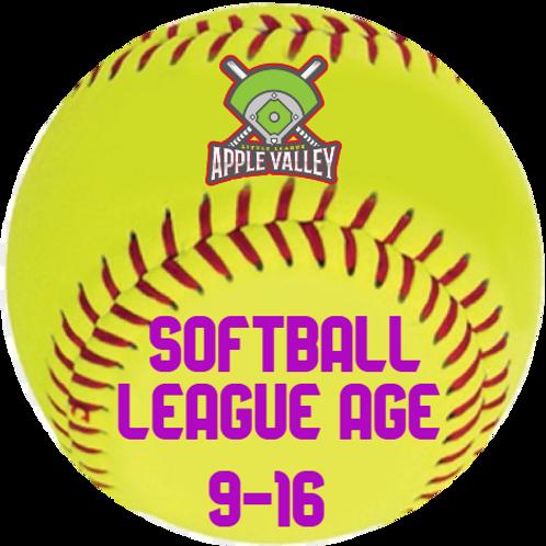 Fall 2020 Softball 9-16