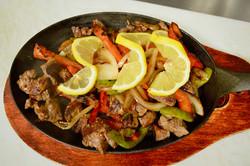 Mollies Kountry Kitchen Steak Fajitas