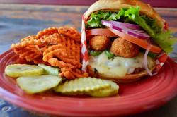 Mollies Kountry Kitchen Smokin Hot Burger