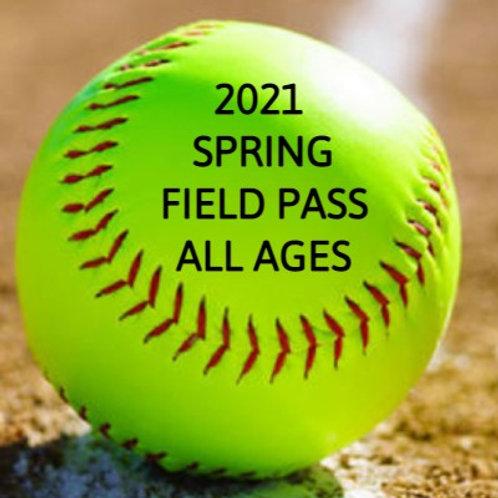 Spring 2021 Softball Pass