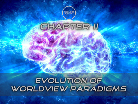 Evolution of worldview paradigms