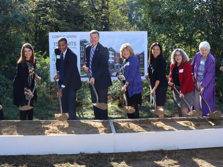 Fairfax County and APAH Break Ground on Senior Housing Community in Lee District