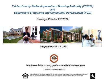 FCRHA Adopts FY 2021 Strategic Plan