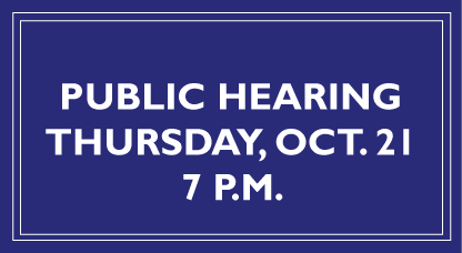 Notice of Public Hearing for Development of Affordable Housing in Sully District