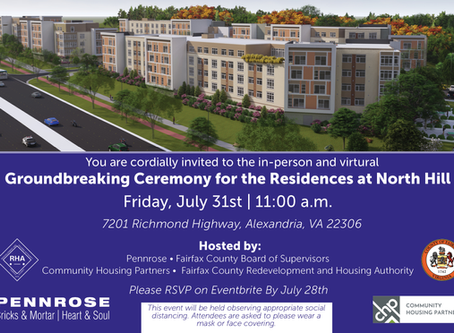 Groundbreaking: Residences at North Hill