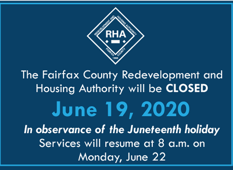 Juneteenth Declared Fairfax County Holiday; Government to Close June 19, 2020