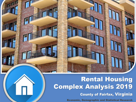 Fairfax County Releases Results of 2019 Rental Housing Complex Analysis