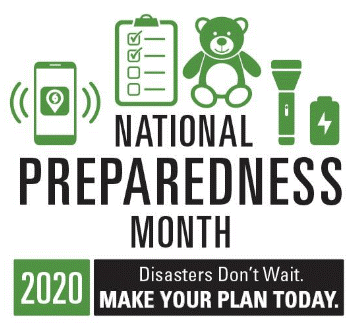Be Prepared! National Preparedness Month Activities Can Help Ensure Your Household is Ready