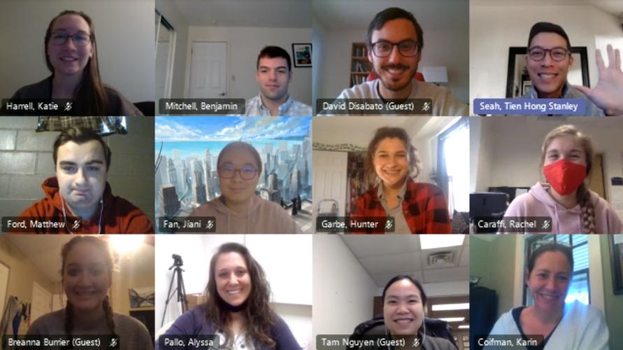 Monthly Lab Meetings!