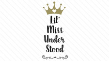 """""""Miss Understood"""""""