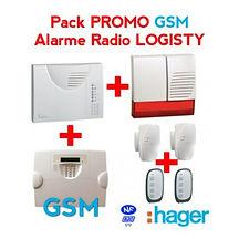 alarme radio sans fil detecteur de mouvements telecommande vol intrusion