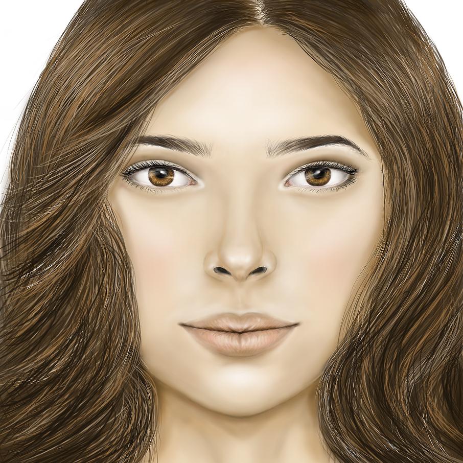 Free Handed Portrait
