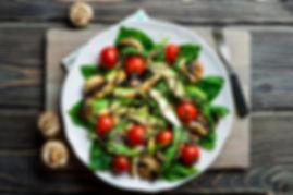 Avocado & Mushroom salad