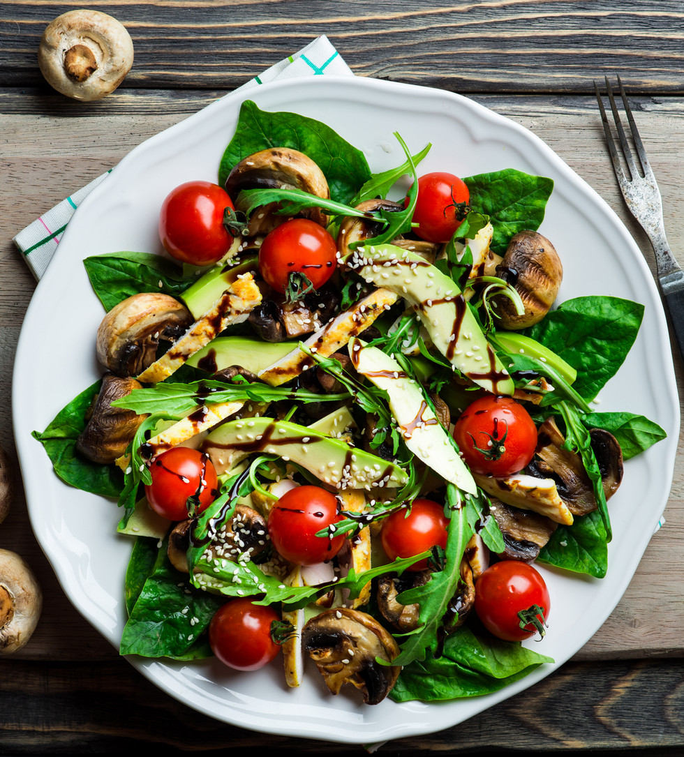Salad with Balsamico