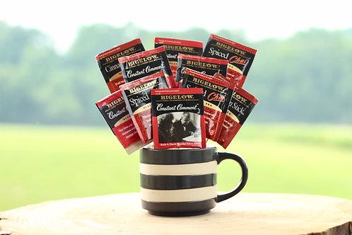 spice black tea bouquet gift in mug