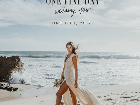 11th June 2017 - One Fine Day Wedding Fair