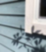 Cal小屋の外壁です。