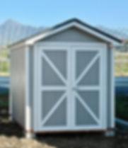 物置にも最適なグリーンベルの小屋です