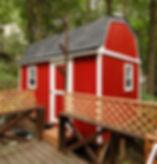 かわいい手作り物置小屋はDIYで建てられます。