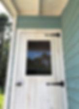 Cal小屋のドアです。