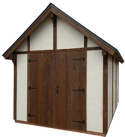 欧風物置小屋のスタッコ8です。