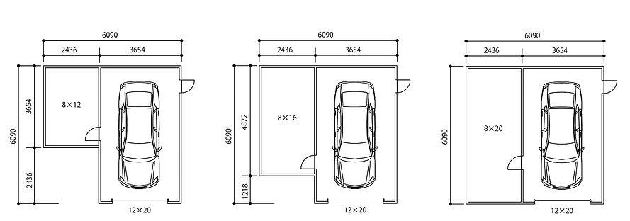 ピットガレージ12図面4