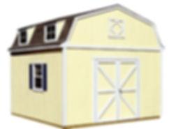 おしゃれ物置小屋のヒューロンドアタイプです。