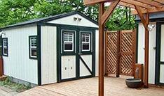 自作できる物置小屋のキットです。