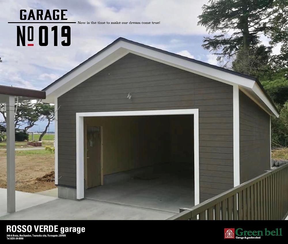 グリーンベルのガレージは秘密基地や隠れ家にするには最高のおしゃれな空間を作り出します。