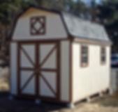 かわいい物置小屋です。