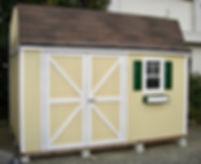おしゃれでかわいい物置小屋です。