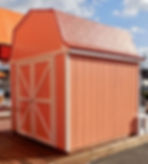 グリーンベルの物置小屋です。