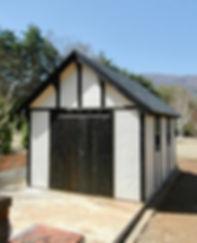 欧風スタイルな小屋です。