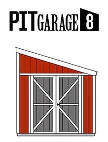 ピットガレージ8はガレージです。