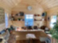 小屋の内装です。