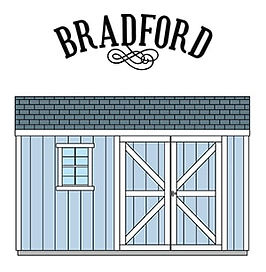 物置小屋のブラッドフォードです。
