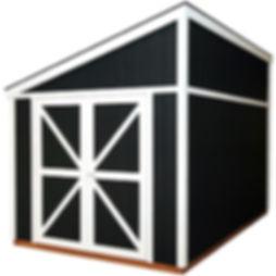 おしゃれ物置小屋のピットガレージ8です。