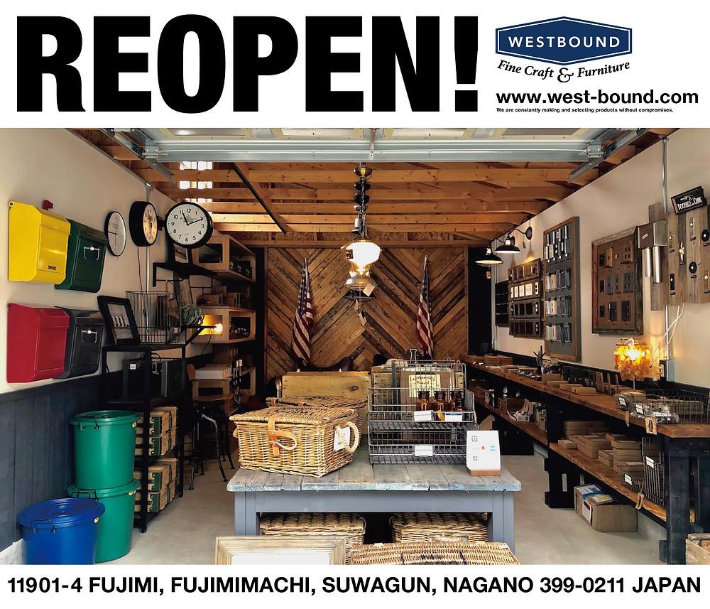 グリーンベル家具部門のウエストバウンドwestboundはオーダー家具を主軸に、独自な視点からのセレクト雑貨をも展開する家具屋なのです。