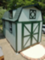 DIYキットの物置小屋です。