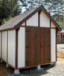 和風物置小屋にもなります。