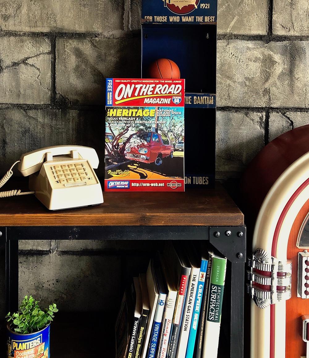 ガレージならグリーンベル!な広告が掲載されているフリーペーパーで、おしゃれなガレージ・物置小屋がよくわかります。