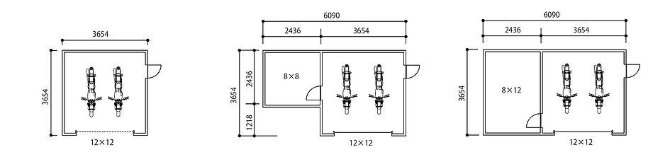 ピットガレージ12図面1