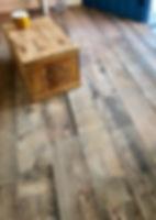 イロドリプロジェクト造形小屋の床です。