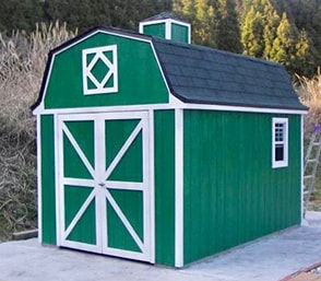木製の小屋キットだからDIYでつくれます。