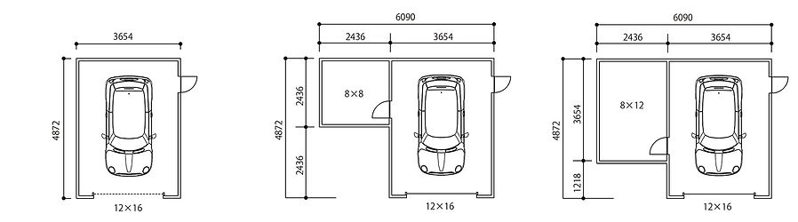 ピットガレージ12図面2